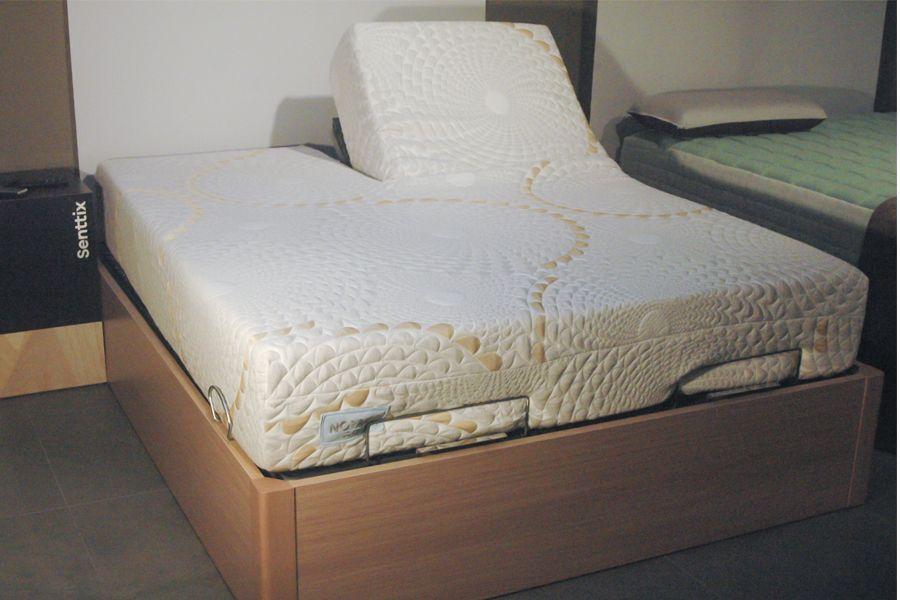 Colchón doble para cama articulada.